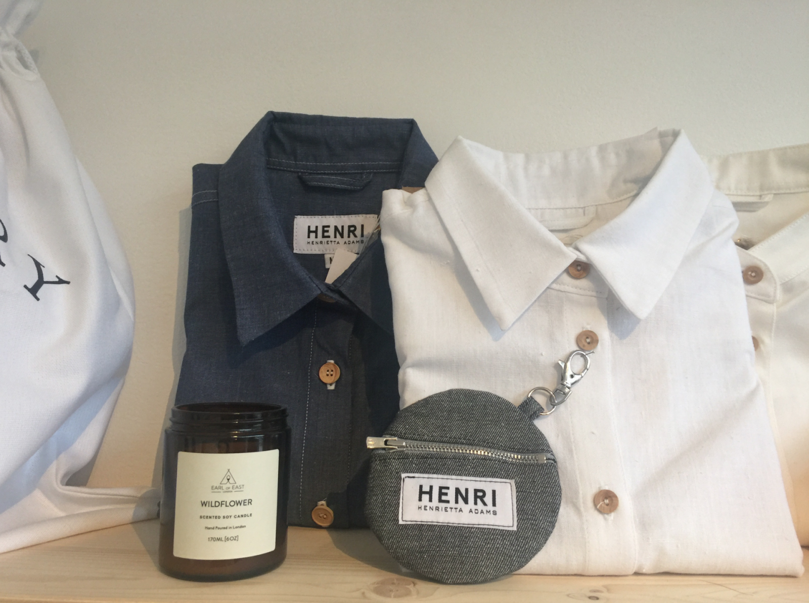 Pop Along To Henri For An Organic Shirt With a Sustainable Story