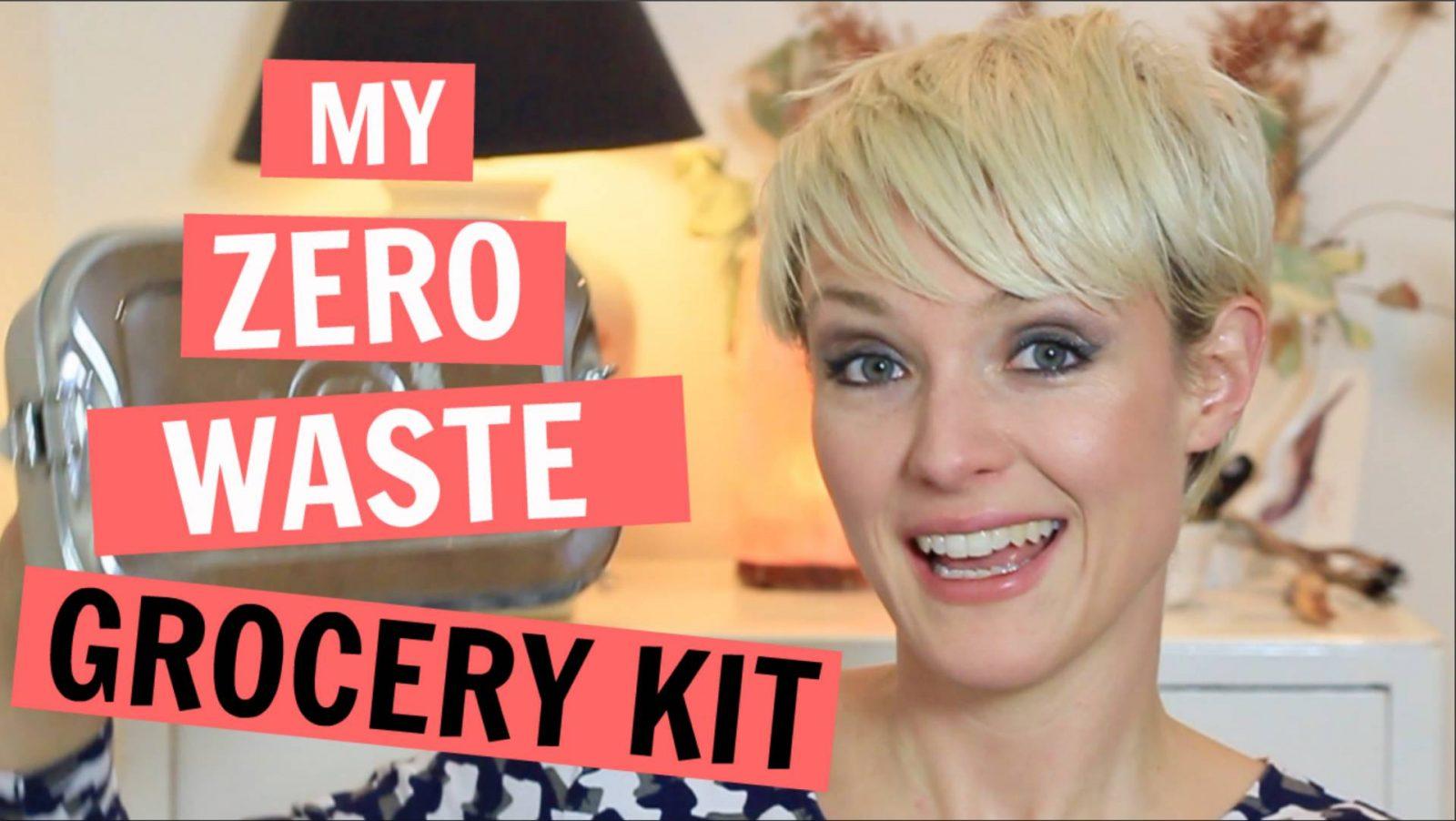 My Zero Waste Grocery Shopping Kit | YouTube