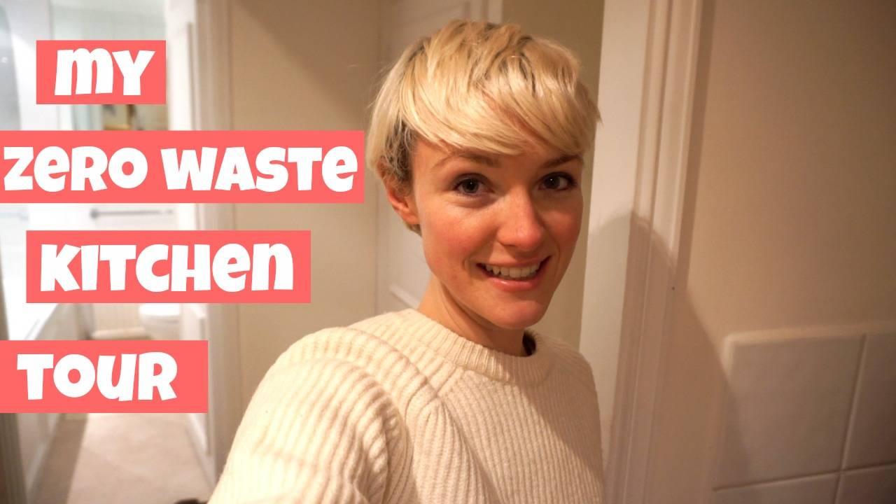 My Zero Waste Tiny Kitchen Tour   YouTube