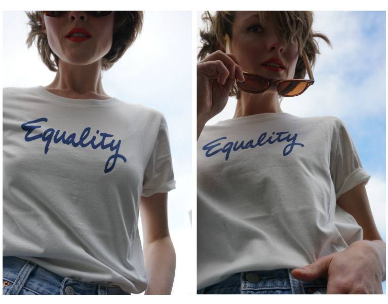 REVIEW: A Slogan Tee That Says It All